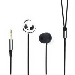 Skull Grimace In-ear Headphones Earbuds for iPod iPad MP3 MP4 CD etc
