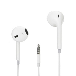 Earpods Headphones Earphones for iPad iPod iPhone MP4 Player (without Mic)