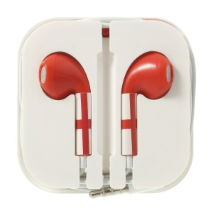 Inglaterra Flag Pattern 3.5MM In-ear Headset with Remote & Mic for iPhone 5s 5