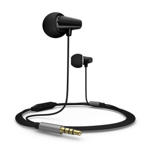 Black Remax RM-702 Ceramic Music Earphone w/ Remote & MIC for IOS iPhone iPad iPod