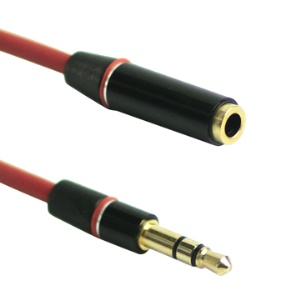3.5mm Male to Female Stereo Sound Extension Audio Cable, Length: 1.3M