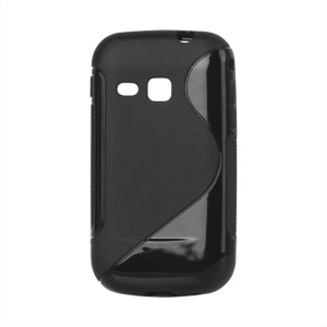 S Shape TPU Case Cover for Samsung Galaxy mini 2 S6500