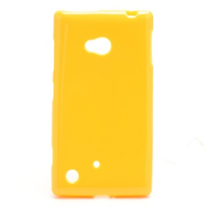 Candy Gel Jelly TPU Case Cover for Nokia Lumia 720 - Yellow
