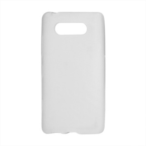 Matte TPU Case Cover for Nokia Lumia 820 - White