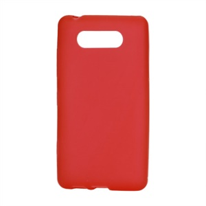Matte TPU Case Cover for Nokia Lumia 820 - Red