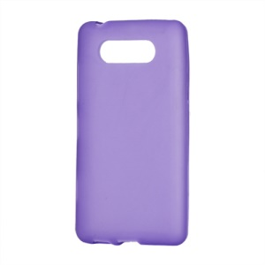 Matte TPU Case Cover for Nokia Lumia 820 - Purple