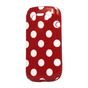 Polka Dots TPU Cover Case for BlackBerry Bold 9790 Onyx III Bellagio