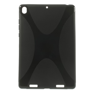 X Shape Anti-slip Soft TPU Case for Xiaomi MiPad A0101 - Black