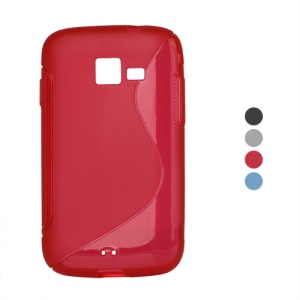 S Line Wave TPU Gel Case for Samsung Galaxy Y Pro B5510
