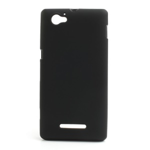 Black Double-side Matte TPU Case for Sony Xperia M C1905 C1904 C2004 C2005