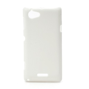 Flexible Gel TPU Case Cover for Sony Xperia L S36h C2105 C2104 - White