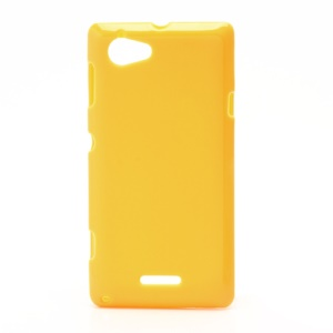 Flexible Gel TPU Case Cover for Sony Xperia L S36h C2105 C2104 - Yellow