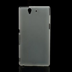 Flex Protective Gel TPU Case for Sony Xperia Z L36h Yuga C6603 - Transparent White
