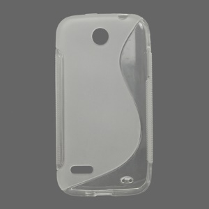 S Shape TPU Case Cover for Huawei Ascend C8812