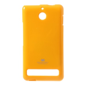 Yellow Mercury Goospery Glittery Powder TPU Protective Case for Sony Xperia E1 D2004 D2005 / E1 Dual D2104 D2105 D2114