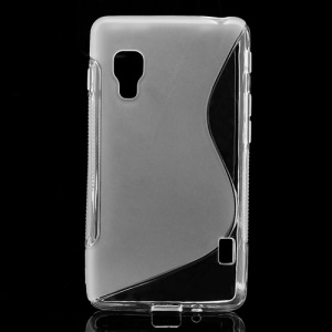 S-Curve Soft TPU Gel Case Cover for LG Optimus L5 II E460