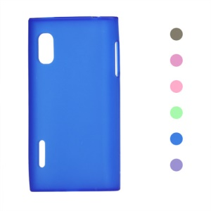 Frosted Matte TPU Cover Case for LG Optimus L5 E610 E612