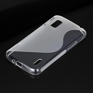 S Shape TPU Gel Skin Case for LG E960 Mako Google Nexus 4