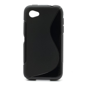 Anti-Slip S Shape Soft TPU Case Cover for HTC First