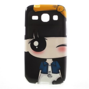 Cute Girl Xiaoxi TPU Gel Case for Samsung Galaxy Core Plus G3500 G3502