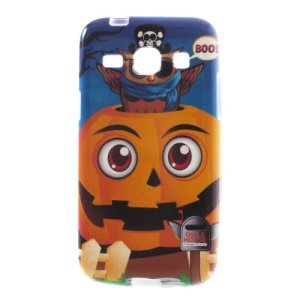 Owls Pumpkin House Soft TPU Cover for Samsung Galaxy Core Plus G3500 G3502