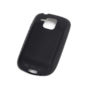 Football Veins Extended Battery TPU Case for Samsung Galaxy S III / 3 Mini I8190 - Black