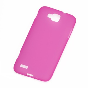 Matte TPU Gel Case Cover for Samsung Ativ S I8750 - Rose