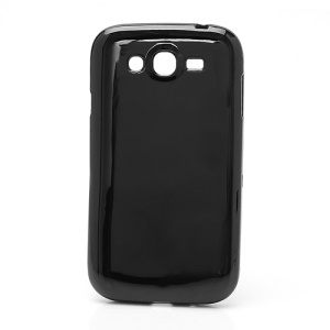 Glossy TPU Gel Case Cover for Samsung Galaxy Grand I9080 I9082 - Black