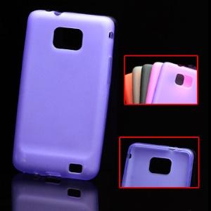 Flexible TPU Back Case for Samsung I9100 Galaxy S II