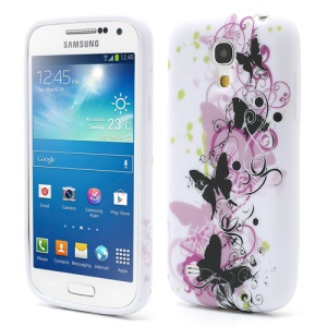 Fluttering Butterflies TPU Protective Case for Samsung Galaxy S4 mini I9195 I9190