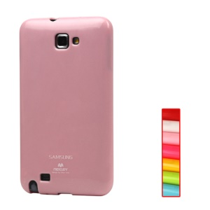 Mercury Flash Powder TPU Gel Case for Samsung Galaxy Note I9220 GT-N7000 I717