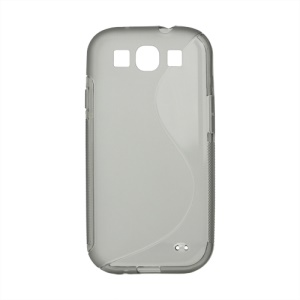 S-Curve TPU Gel Case Cover for Samsung Galaxy S 3 / III I9300 I747 L710 T999 I535 R530 - Grey