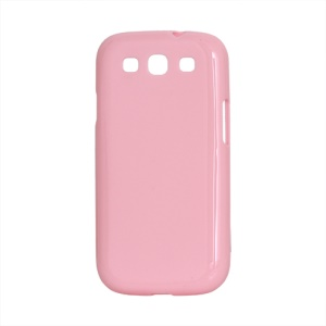 Glossy TPU Case Cover for Samsung Galaxy S 3 / III I9300 I747 L710 T999 I535 R530 - Pink