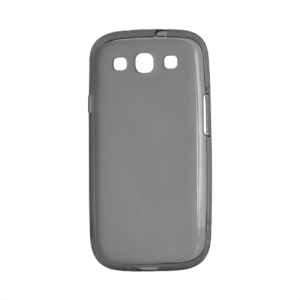 Frosted TPU Gel Case Cover for Samsung Galaxy S 3 / III I9300 I747 L710 T999 I535 R530 - Grey
