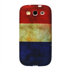 Retro Dutch Fag TPU Case Cover for Samsung Galaxy S 3 / III I9300 I747 L710 T999 I535 R530