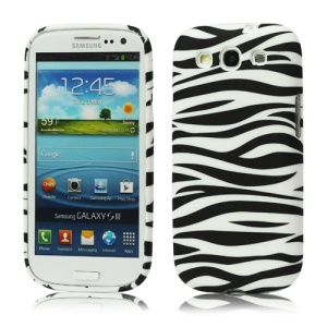 Zebra TPU Gel Case for Samsung Galaxy S 3 / III I9300 I747 L710 T999 I535 R530