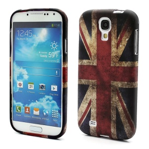 Vintage Union Jack Flag Soft TPU Case for Samsung Galaxy S4 IV S4g i9500 i9502 i9505