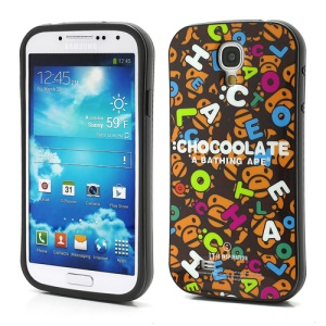 iFace Fun Chacoolate Bathing Ape Soft TPU Phone Case for Samsung Galaxy S4 IV S4g i9500 i9502 i9505