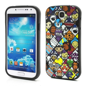 iFace Cute Cartoon Characters TPU Protective Case for Samsung Galaxy S4 IV S4g i9500 i9502 i9505