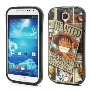 iFace One Piece Monkey D Luffy TPU Gel Skin Case for Samsung Galaxy S4 IV S4g i9500 i9502 i9505
