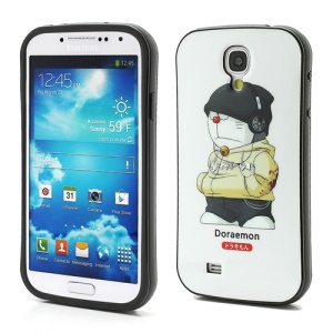 iFace Cute Doraemon with Headphone TPU Cover Case for Samsung Galaxy S4 IV S4g i9500 i9502 i9505