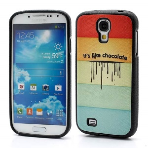 Its Like Chocolate Soft TPU Gel Case Cover for Samsung Galaxy S IV S4 i9500 i9502 i9505