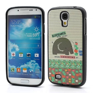 Elephant &amp;amp; Fruits Protecitve TPU Gel Skin Case for Samsung Galaxy S IV S4 i9500 i9502 i9505