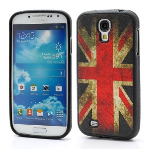 UK National Flag Cell Phone TPU Case Accessory for Samsung Galaxy S IV S4 i9500 i9502 i9505