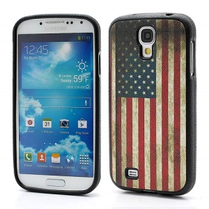 USA National Flag Soft TPU Skin Case Cover for Samsung Galaxy S IV S4 i9500 i9502 i9505