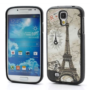 Map Eiffel Tower Soft Protective TPU Case Cover for Samsung Galaxy S IV S4 i9500 i9502 i9505