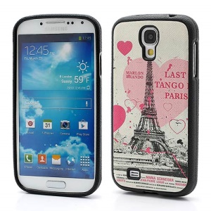 Heart &amp;amp; Eiffel Tower TPU Gel Case Shell for Samsung Galaxy S IV S4 i9500 i9502 i9505