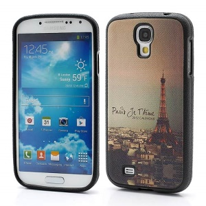 City View Eiffel Tower Soft TPU Jelly Case Cover for Samsung Galaxy S IV S4 i9500 i9502 i9505
