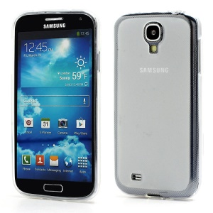 Double-side Frosted Pudding Jelly TPU Case with Packaging Bag for Samsung Galaxy S4 i9500 i9502 i9505 - White