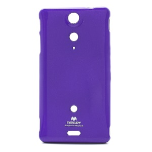Purple Mercury Glitter Powder For Sony Xperia TX GX LT29i Hayabusa Slim TPU Cases